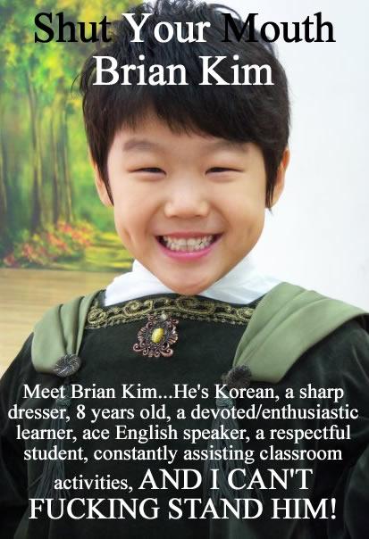 Shut Your Mouth Brian Kim