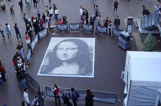 MONALISA from a cup of coffee..