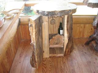 Arte rustico pulido mueble rustico for Bar de madera chile