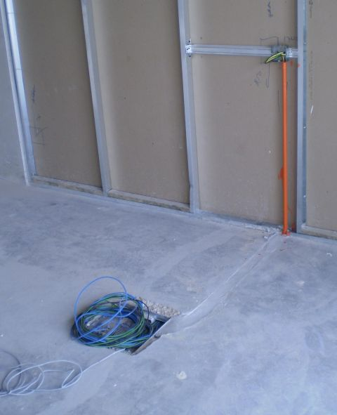 Electrical Installation Wiring Pictures Underfloor Trunking