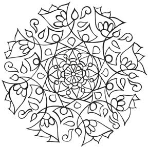 mandala coloring pages as therapy - photo#29