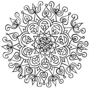 Mandala Coloring Book Free Pdf Coloring Pages