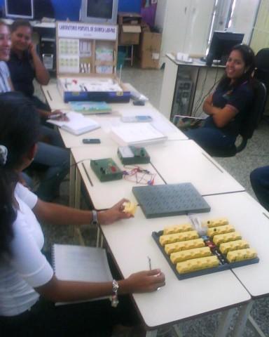 Jornada de Inducción Laboratorios Portátiles de Química y Física