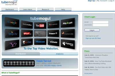 Tubemogul monitoramento vídeo online