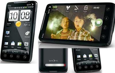 Smartphone HTV EVO