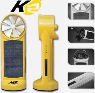 carregador solar e vento