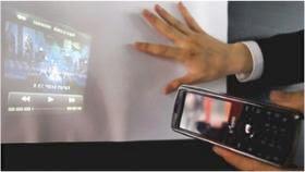 celular projetor