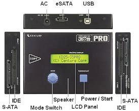 Copiador de dados HD