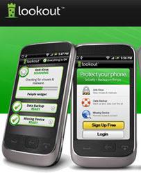 Lookout segurança para o celular
