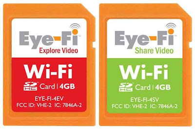 Eye-Fi Wi-Fi SD cards