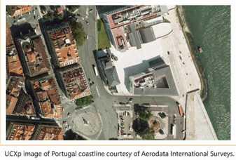 Imagem aérea de Portugal