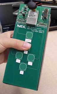 Controle remoto da NEC