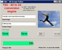 T3D-2D TO 3D Imagem Converter