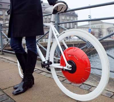 Bicicleta Copenhagen Wheel
