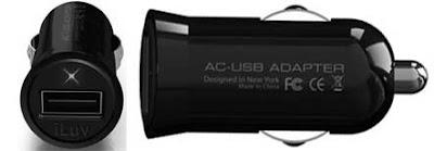 iLuv iAD115 Adaptador USB para isqueiro do carro