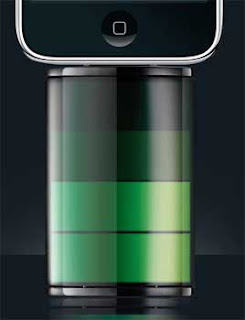 Icon bateria reserva para iPhone