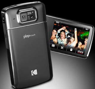Câmera Kodak Playtouch edita vídeo