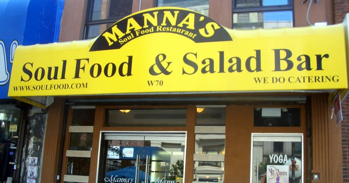 Foodies r goodies nyc harlem manna 39 s soul food restaurant for Harlem food bar yelp