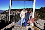 Brent and Terissa on Grandfather Mountain
