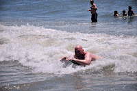 Brent Body Boarding at Myrtle Beach