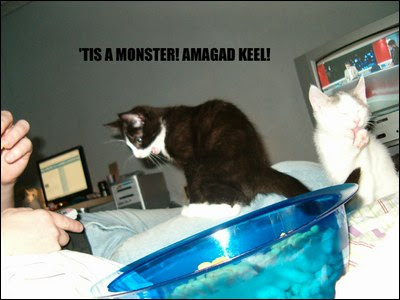 Tis a monster Amagad Keel