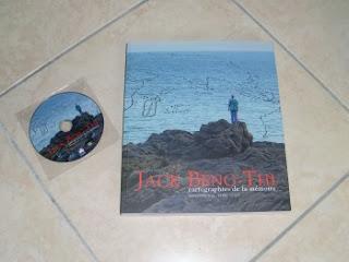Photographie du livre et du DVD de l'exposition