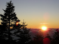 排雲山莊的夕陽