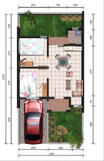 denah rumah sederhana on Rumah hunian sederhana harus bener-benar memperhatiakan kebutuhan ...
