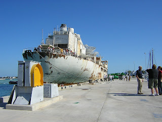 Another picture of the USS Vandenberg in Key West