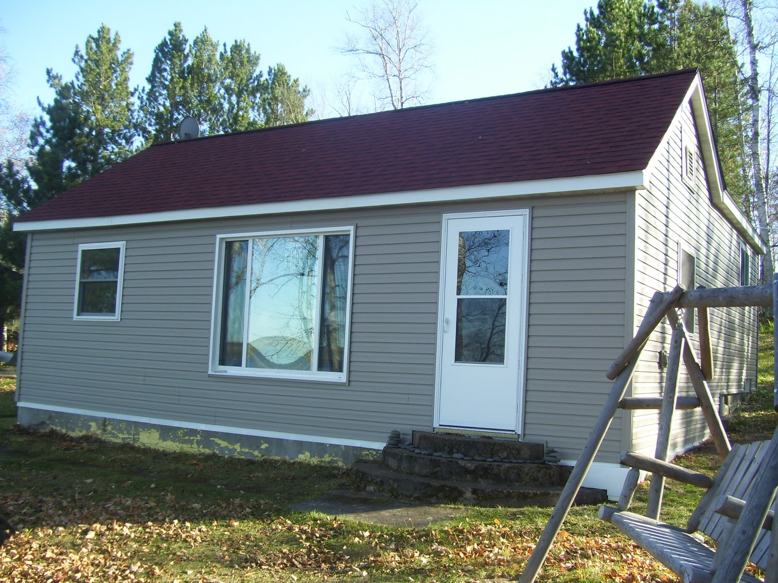 Up North Our Cabin On Bear Island Lake Cabin Update