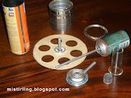 Motor Stirling casero.**Como Fabricarlo**