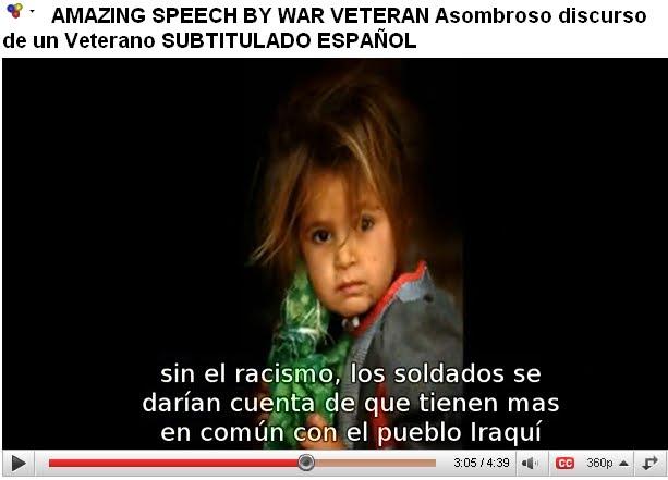 Asombroso discurso de un Veterano