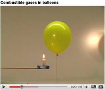 ES MUY   IMPORTANTE VER ESTE VIDEO. &quot;Combustion  de gases en globos&quot;