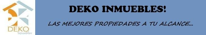 DEKO INMUEBLES