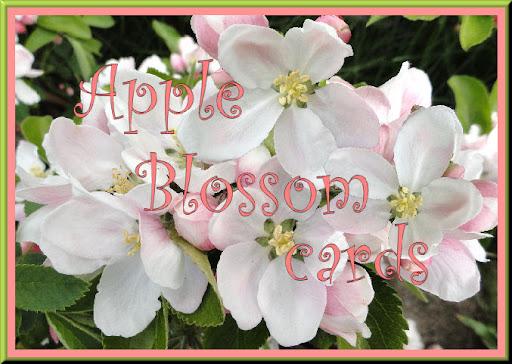 Apple Blossom Cards