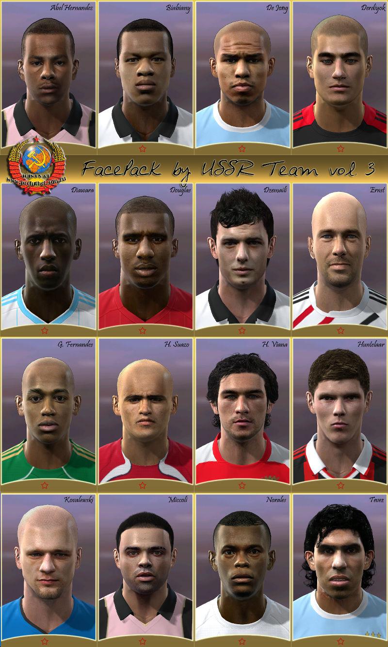 Pes 2010 - Mega Facepack Preview