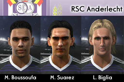 Pes 2010 - Anderlecht Mini Facepack Preview