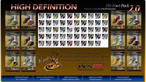 Pes 2010 - HD Bootpack 2.0 Preview
