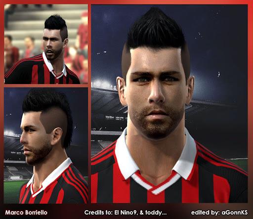 Pes 2010 - Borriello Face Preview