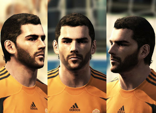 Pes 2010 - Casillas Face Preview
