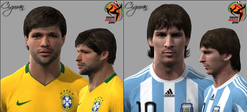 Recopilación de faces/facepacks (PES 2011) Preview
