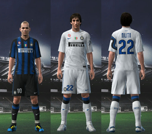 Pes Master Posts: Inter 10-11 Player Kits By Wilou