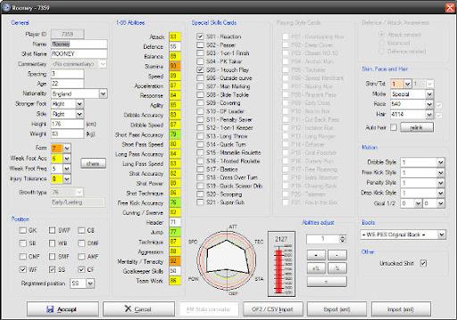 Pes 2010 Editör v0.1 Beta 1