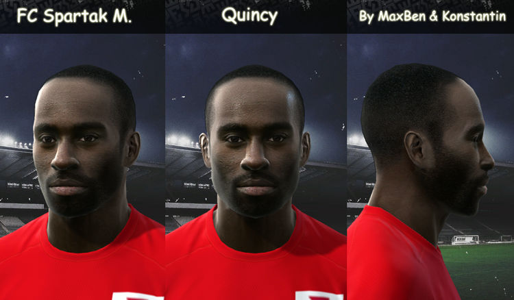 Pes 2010 - Quincy Face Preview