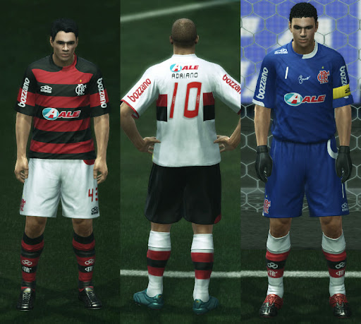 Pes 2010 Demo: PES 2010 Flamengo 2009 Kit Set By Viciouswe • PESPatchs