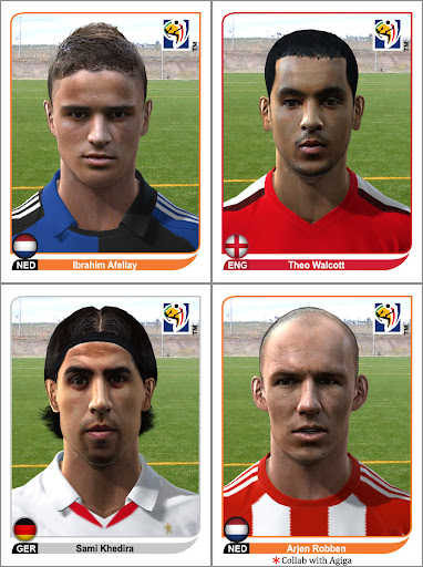 Pes 2010 - World Cup Facepack Preview