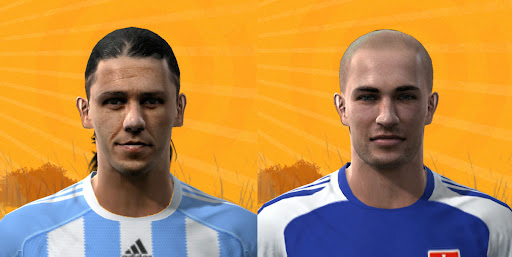 Pes 2010 - Demichelis & Sestak Faces Preview