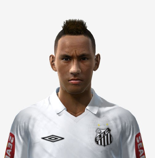 Pes 2010 Demo: PES 2011: Neymar Face By Matt