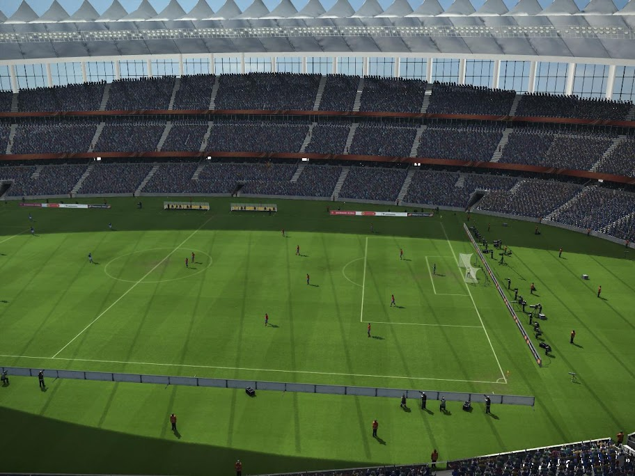Moses Mabhida Stadium for PES 2011 Demo by Pat