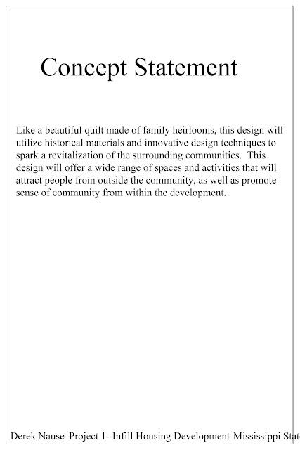 The artist s infill housing development concept